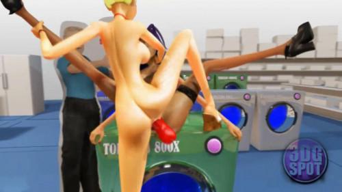 Mrs Doe Tornado 3D HD 3D Porno