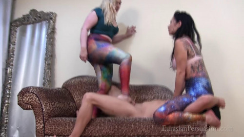 This One Still Has A Pulse - Jasmine & Ruby Enraylls Femdom and Strapon
