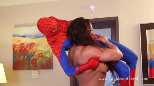 Goddess Of Fetish - Amber Deluca - Amber Destroys Spiderbitch Female Muscle