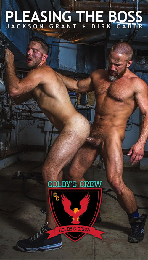 Colby's Crew – Pleasing The Boss – Dirk Caber Fucks Jackson Grant Gay Clips