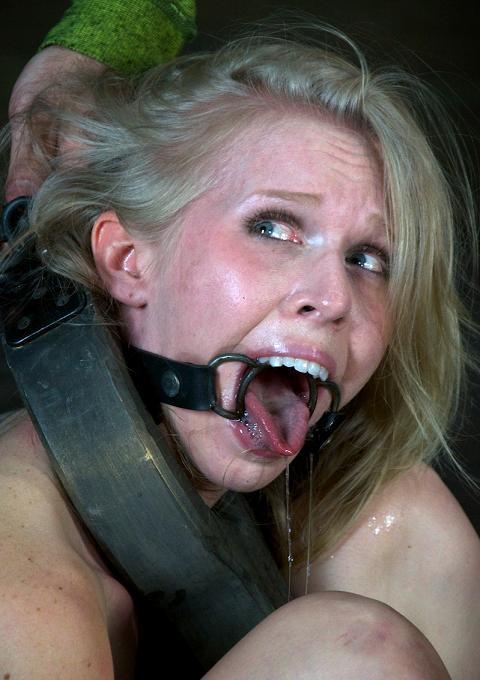 Hyper salivation in BDSM BDSM