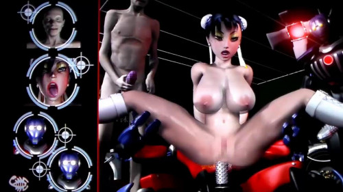 Virgin Fighter Training - Sexy 3D 3D Porno