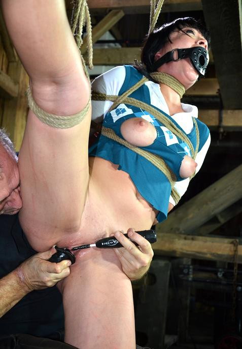 Passionate BDSM sex with a Japanese woman BDSM