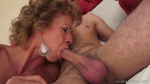 "Rob fucks Grandma Katherin in ""Restless and horny "" Old and Young"