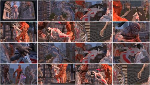 Lumina vs. Three 3D HD New Series 2013 Year 3D Porno