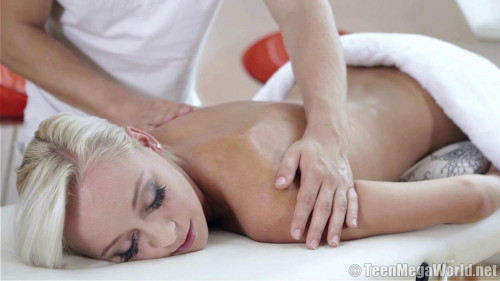 Lovely Blonde Has Fun With Masseur – (720)