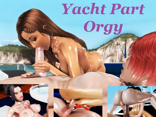 Orgy Yacht Party 3D Porno