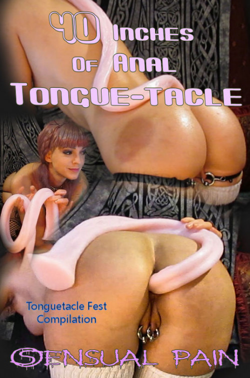 40 Inches Of Anal Tonguetacle | Abigail Dupree