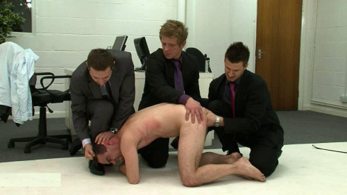 Breath-Control Office Bullies (2014) Gay BDSM