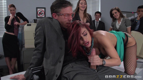 The Whore of Wall Street Ep-2: The Anal Office Queen Sex Orgy