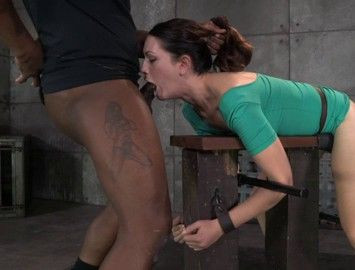 Sarah Shevon Restrained And Used Hard