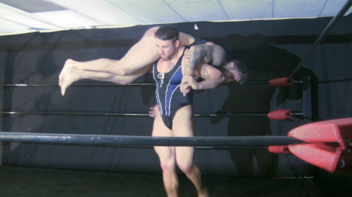 Muscle Domination Wrestling – S11E02 – Oil Hunks 3 – Chace LaChance vs Mutant Gay Extreme