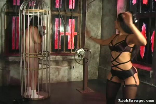 Rick Savage - Submit To Mistress Delilah Femdom and Strapon
