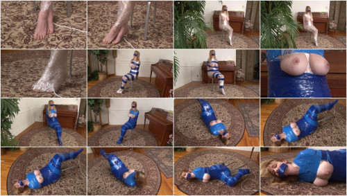 Bound and Gagged – Orgasm in Mummification for Lorelei
