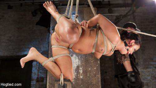 Devastating Anal Fisting in Brutal Bondage BDSM