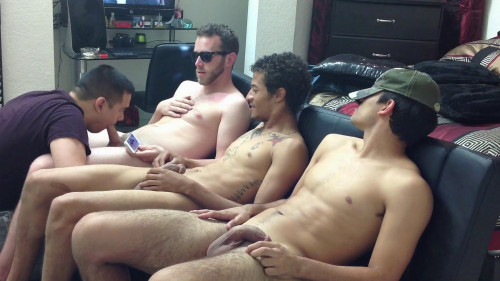 Straightboyz – Hookup 273 – Brendt, Jako and Jaxon Serviced Until They Shoot Their Hot Cum Gay Extreme