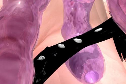 Shiroi Mitsu No Kyoufu 3D Porno