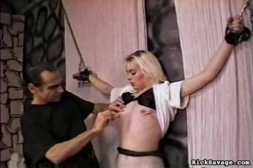 Bondage Virgin Blondie BDSM