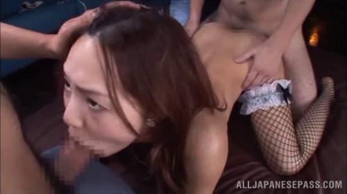 DOWNLOAD from FILESMONSTER: bukkake Adorable Japanese cock lover Yukina Momota sucks multiple cocks