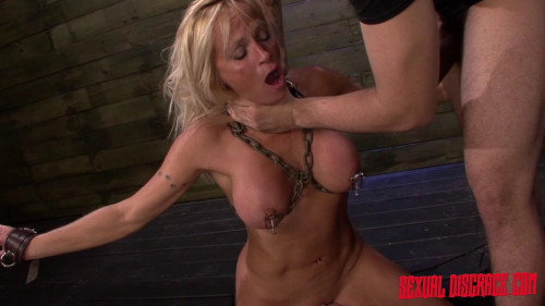 Dani Dare Begs for More Cock on the Sybian & Doggy Position BDSM
