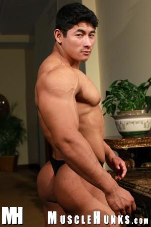 Muscle Hunks - Ko Ryu 01 Double Cumshot Gay Asian