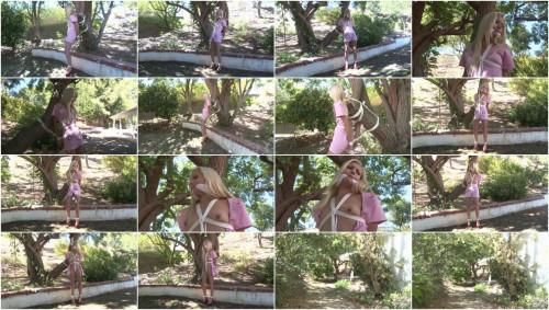 Bound and Gagged – Nurse Odette Tree-Tied