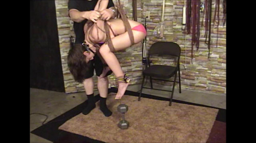 Elise In Pink and Ropes Part Two