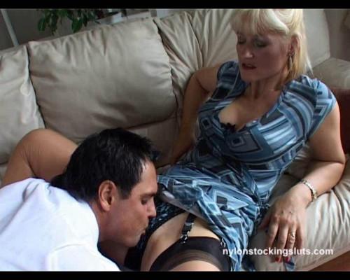 NylonStockingSluts Porn Videos Part 23 ( 27 scenes) MiniPack Mature, MILF