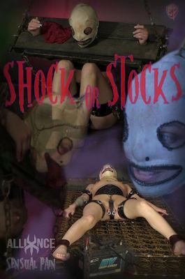 Sensualpain - Jan 22, 2017 - Shock Or Stocks - Abigail Dupree, Master James BDSM
