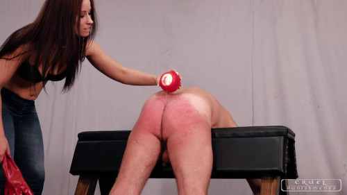 Mistress Anette – Red Gloves And Hot Wax