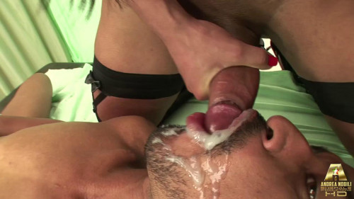 DOWNLOAD from FILESMONSTER: transsexual Aylla R. Nasty tranny cop Aylla fucks guy