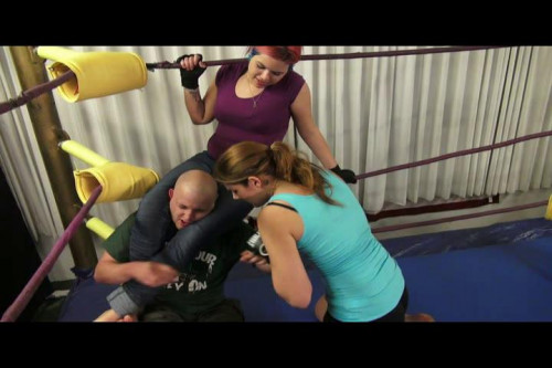 Candy & Destiny - Knockouts and Broken Ribs Femdom and Strapon