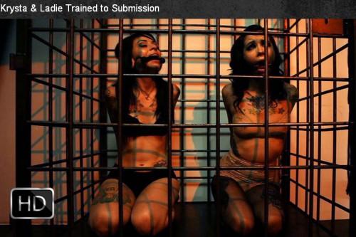 MissoGyny - Mar 26, 2014 - Krysta & Ladie Trained to Submission BDSM