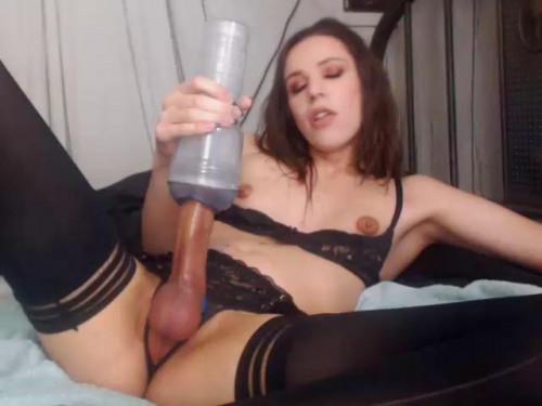 Amateur Webcam Shemale Scarlettdoll Masturbation