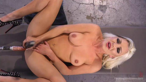 All Natural Blonde Bomb Shell Does Anal and Screams for More!!! Sex Machines