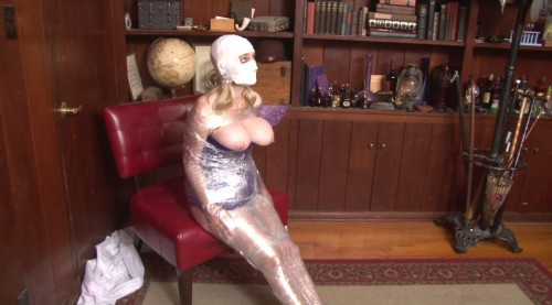 Bound and Gagged – Mummification in Packing Tape – part 2