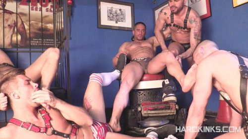 DOWNLOAD from FILESMONSTER: gay bdsm HardKinks Bullfight Edition Vol.2 720p