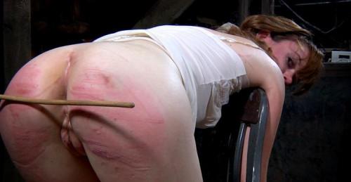 Strong slap for a cute ass BDSM