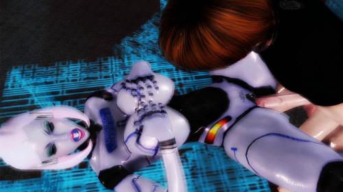 Virtual Robo Pussy 3D Porno