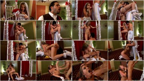 Lusty Bride Takes Big Cock – (720)