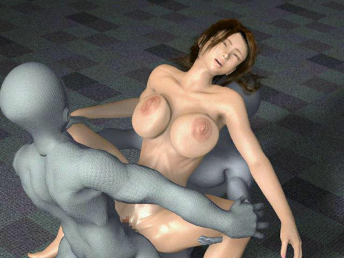 3d girl with big tits fucked by aliens 3D Porno