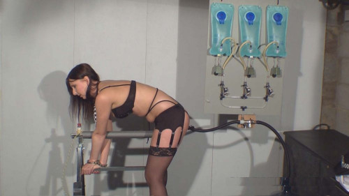 Tracey enters the room and slowly removes her shirt, skirt and pants... (2015) BDSM