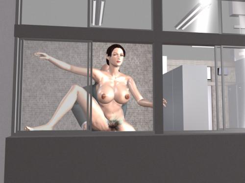 [3D FLASH] The Pretty Gym Instructor 3D Porno