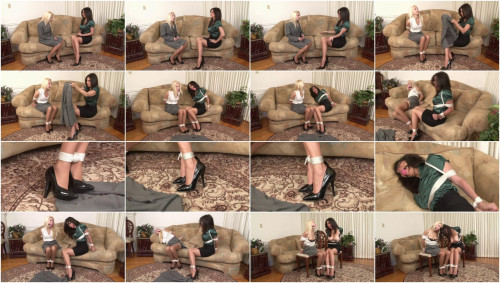 Bound and Gagged – Two Tied Secretaries – Odette Delacroix and Ashley Renee