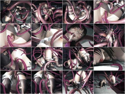 Shokushu to onna - 2015 3D Porno