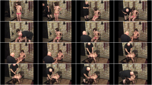 TB – Elise In Pink and Ropes Part 1