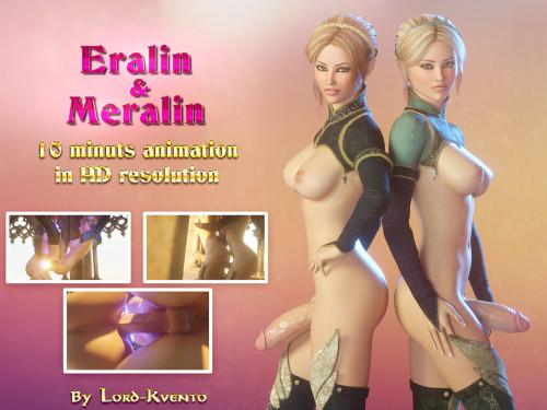 Eralin & Meralin 3D Porno