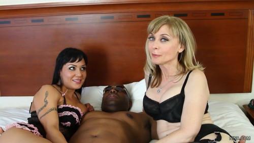 Nina Hartley and Mahina Zaltana – Kinky BBC Threesome