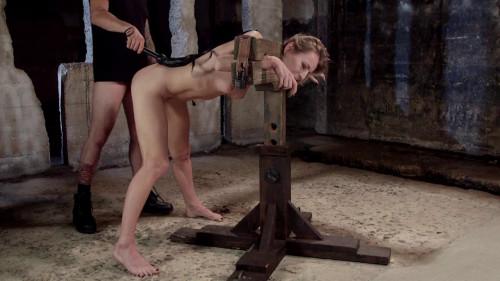Natasha Starr First Time Fucked in Bondage BDSM
