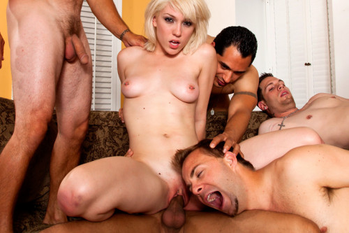 The World's Biggest made-Bi Gangbang Sex Orgy